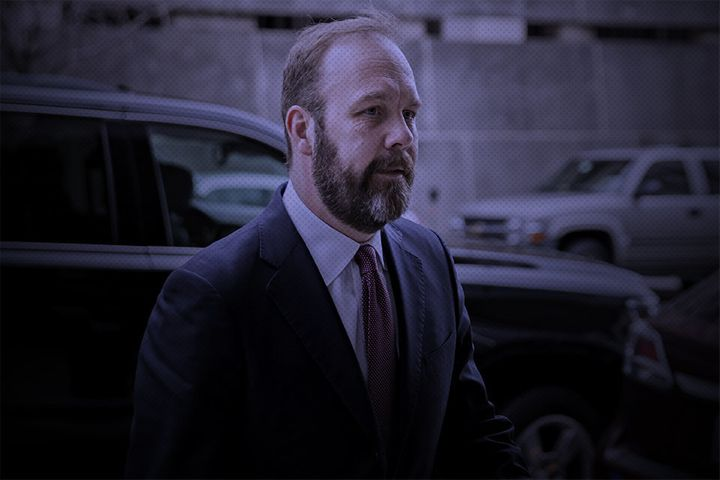 Rick Gates, the star witness in the case against Trump campaign manager Paul Manafort.