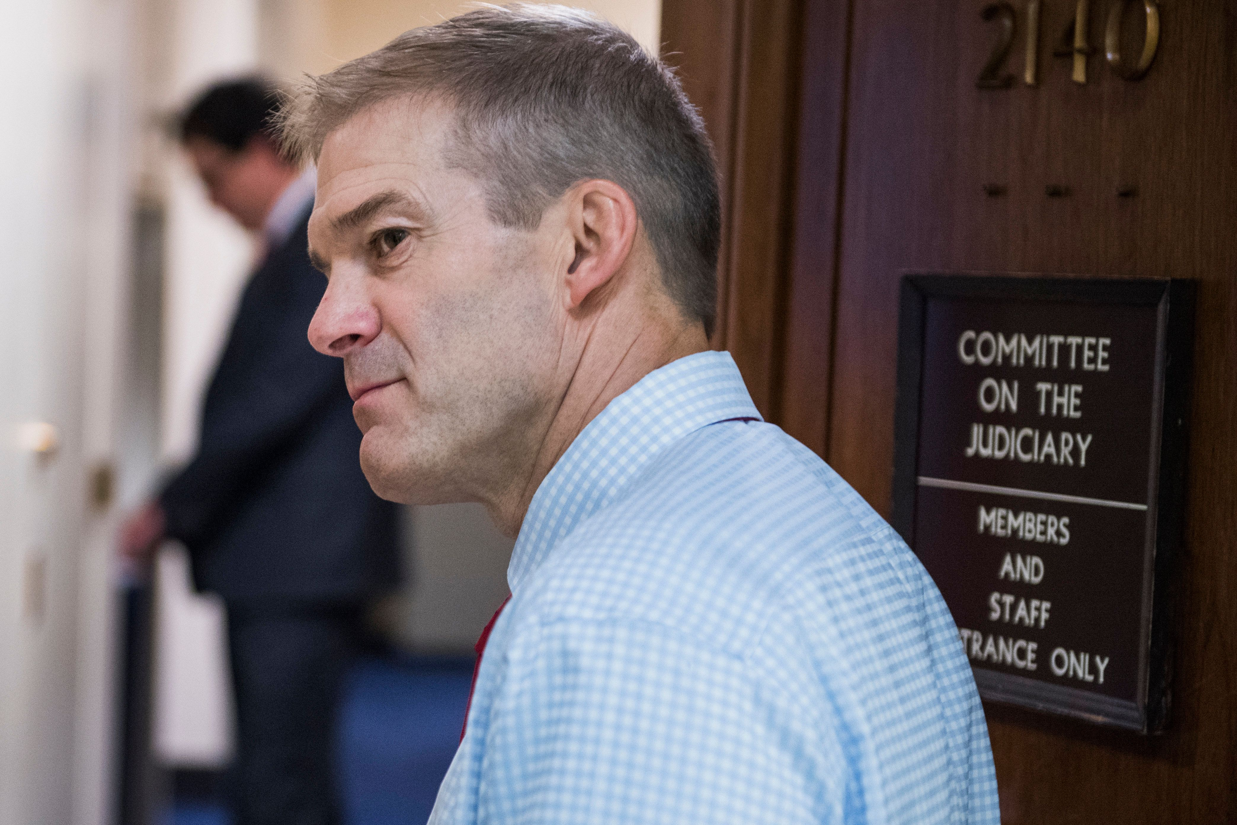Rep. Jim Jordan (R-Ohio) has denied he had any knowledge of Dr. Richard Strauss' alleged behavior while they both worked at O