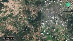 Extreme Dürre: Foto-Vergleich zeigt, wie Deutschland austrocknet