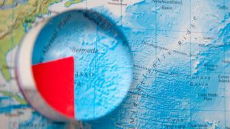 bermuda triangle globe