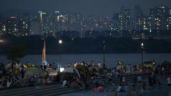 사상 첫 '초열대야' 덮친 밤 서울 강남 아파트 주민 1만여명에게 벌어진