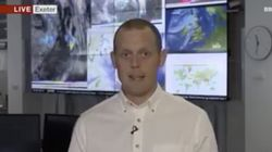 Hitze: Klimaexperte wird vor laufender Kamera