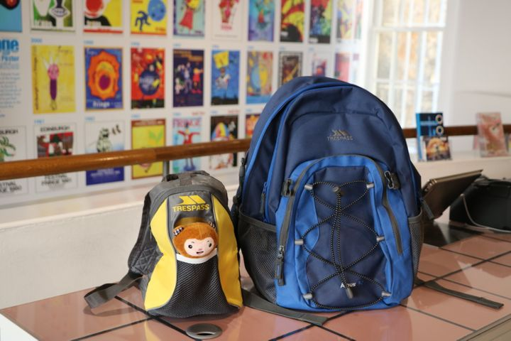 The backpacks are for both adults and children.
