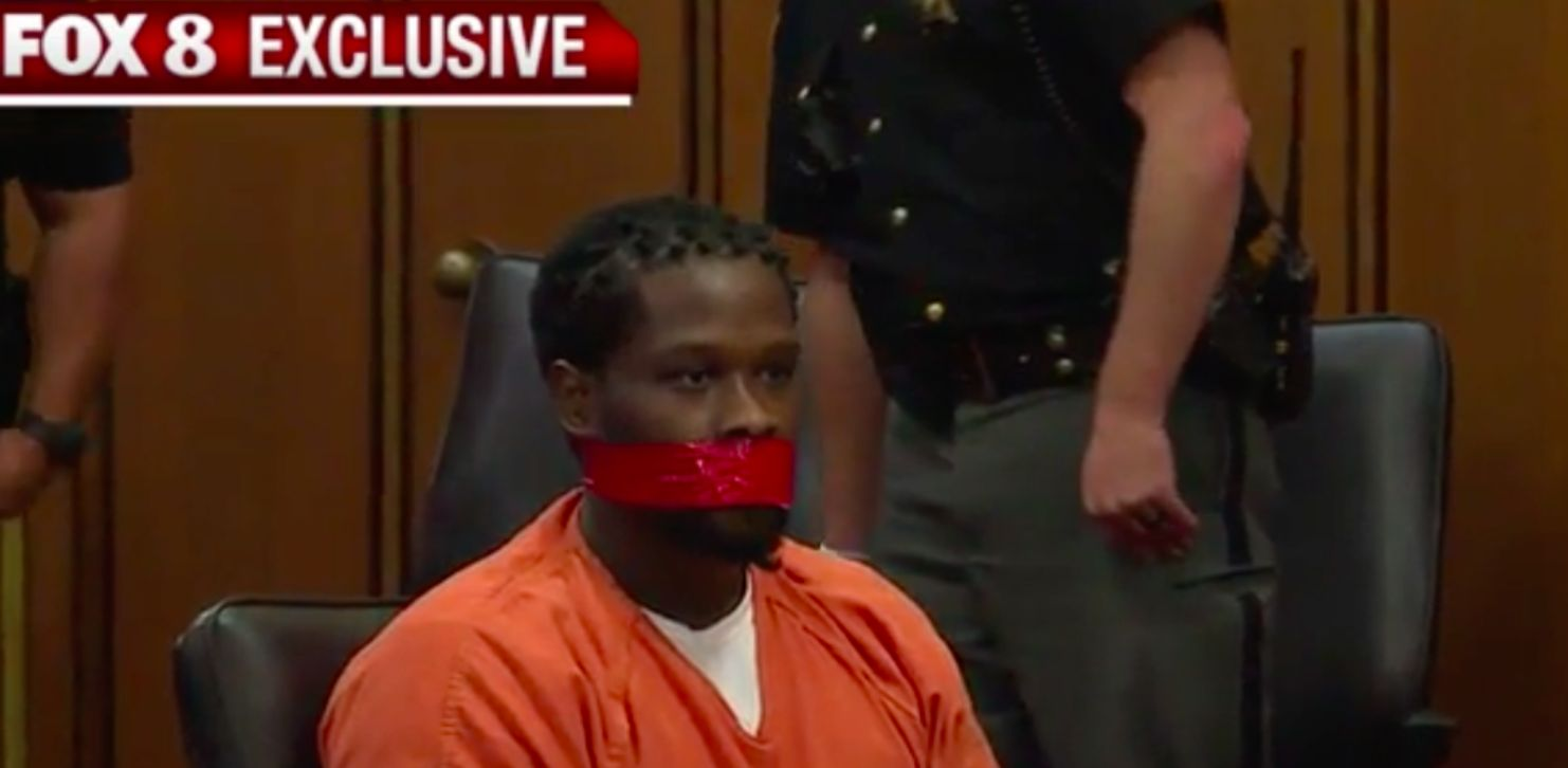 US Judge Has Armed Robber's Mouth Taped Shut In 'Humiliating' Court