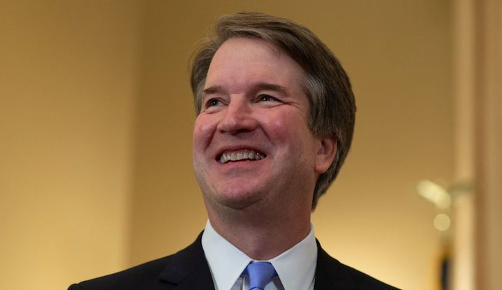 Judge Brett Kavanaugh, President Trump's nominee to replace Anthony Kennedy on the Supreme Court, visits the Russell Sena