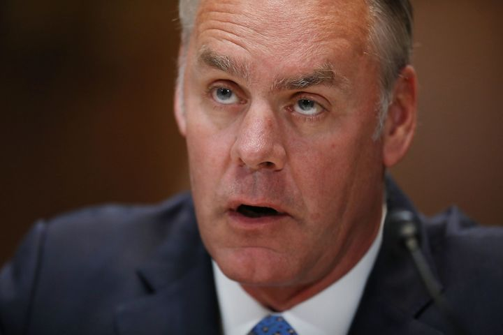 Interior Secretary Ryan Zinke recommended opening all federal waters to drilling and gutted two national monuments, despite f