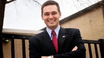In this 2012 photo Illinois Rep Nick Sauer R-Libertyville is shown when he stepped down from the board of School District 220 to serve as a Lake County commissioner Sauer a first-term Republican state representative and member of an Illinois House anti-sexual harassment task force resigned Wednesday Aug 1 2018 after an ex-girlfriend claimed that he posted nude photos of her on a fake social media account under her name