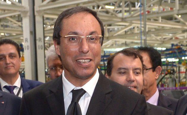 Abdelkader Amara, ministre de l'Économie par intérim après le limogeage de Mohamed