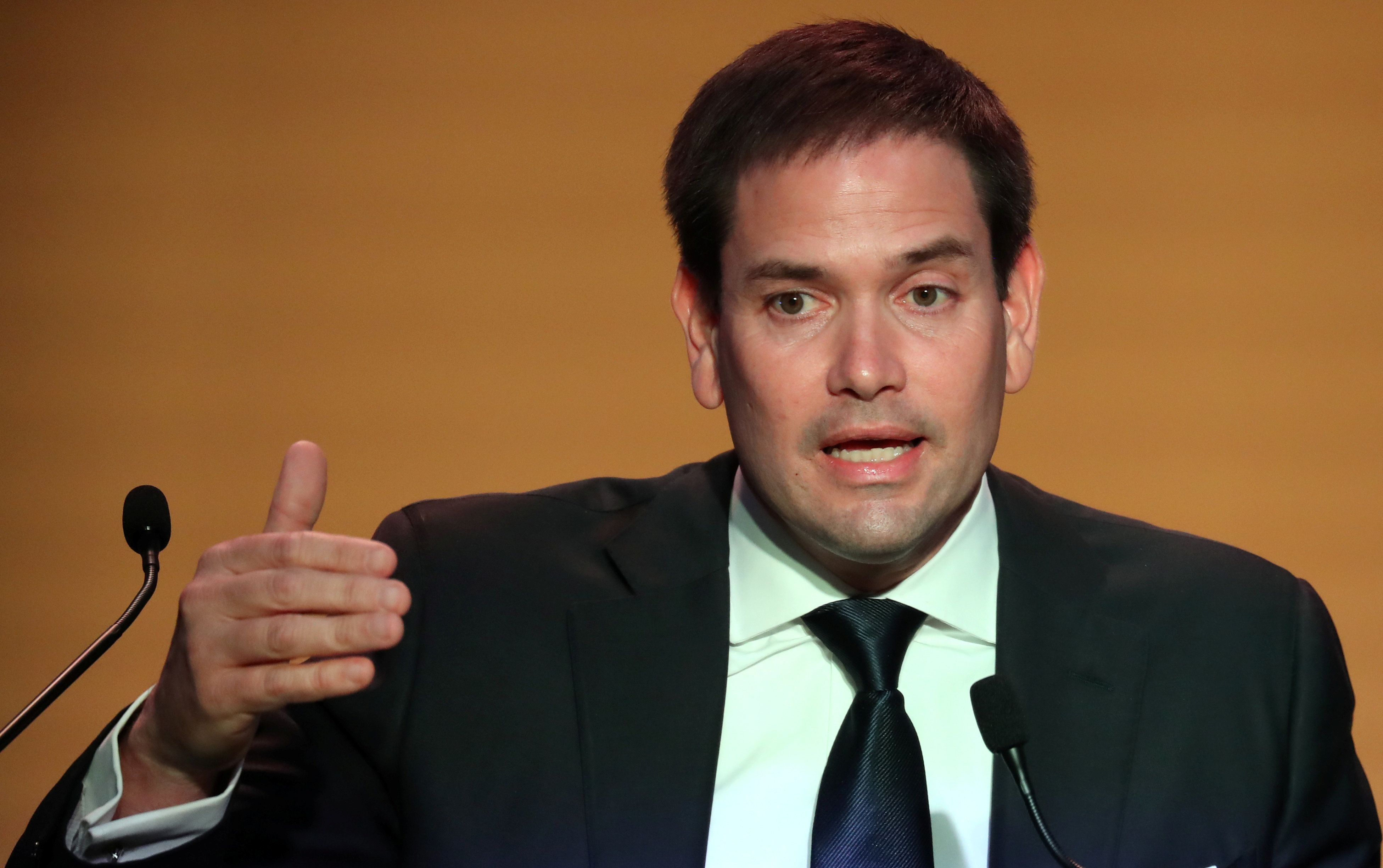 Sen. Marco Rubio (R-Fla.) has proposed letting new parents dip into their Social Security benefits.