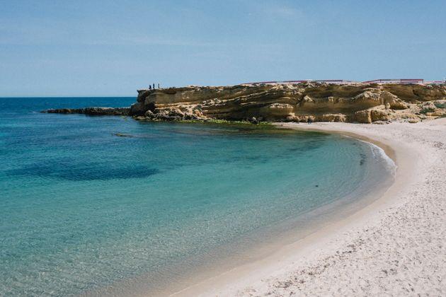 Les plages vierges en Tunisie: Juste