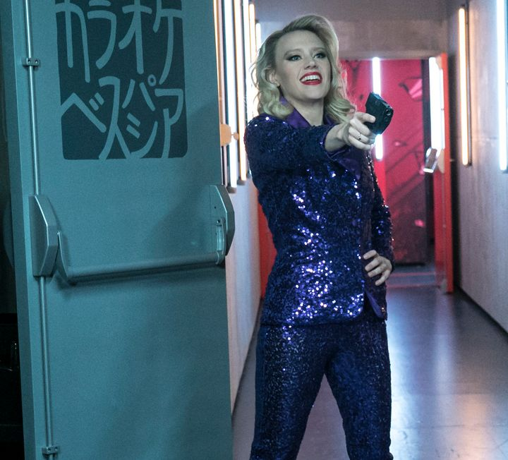 "Kate McKinnon in ""The Spy Who Dumped Me."""