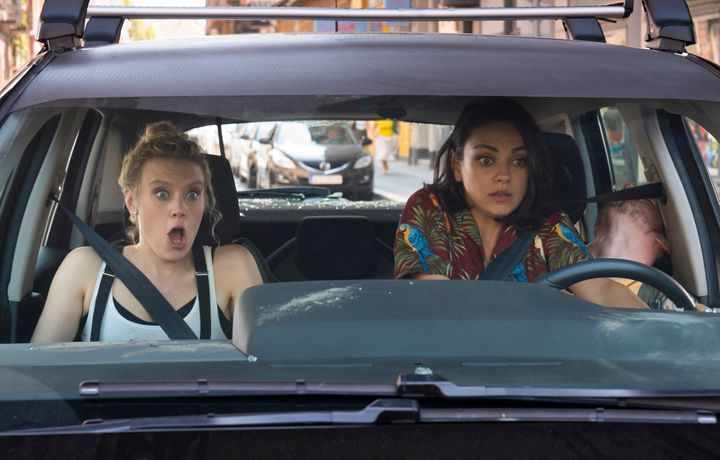 "Kate McKinnon and Mila Kunis in ""The Spy Who Dumped Me."""