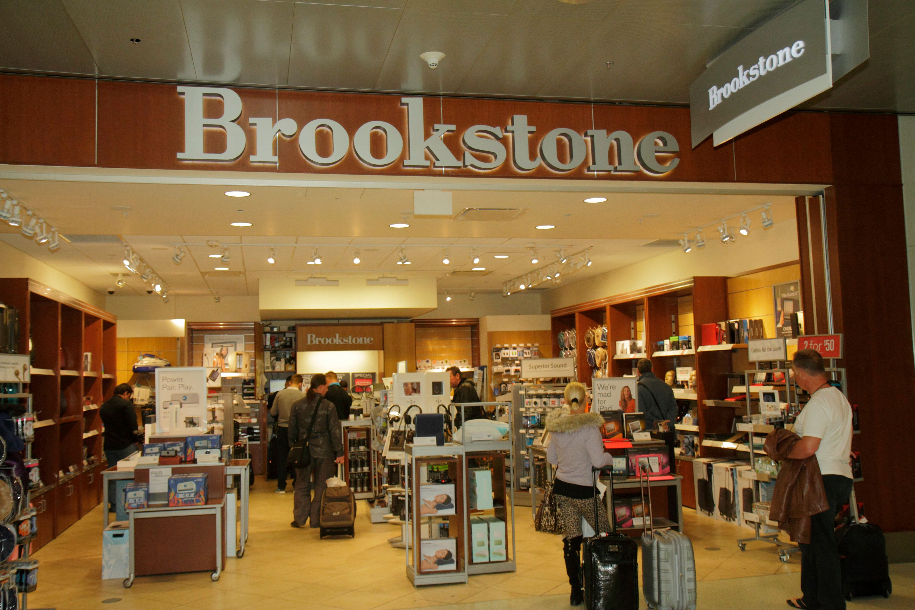 A Brookstone store at Miami International Airport. (Photo by: Jeffrey Greenberg/UIG via Getty Images)