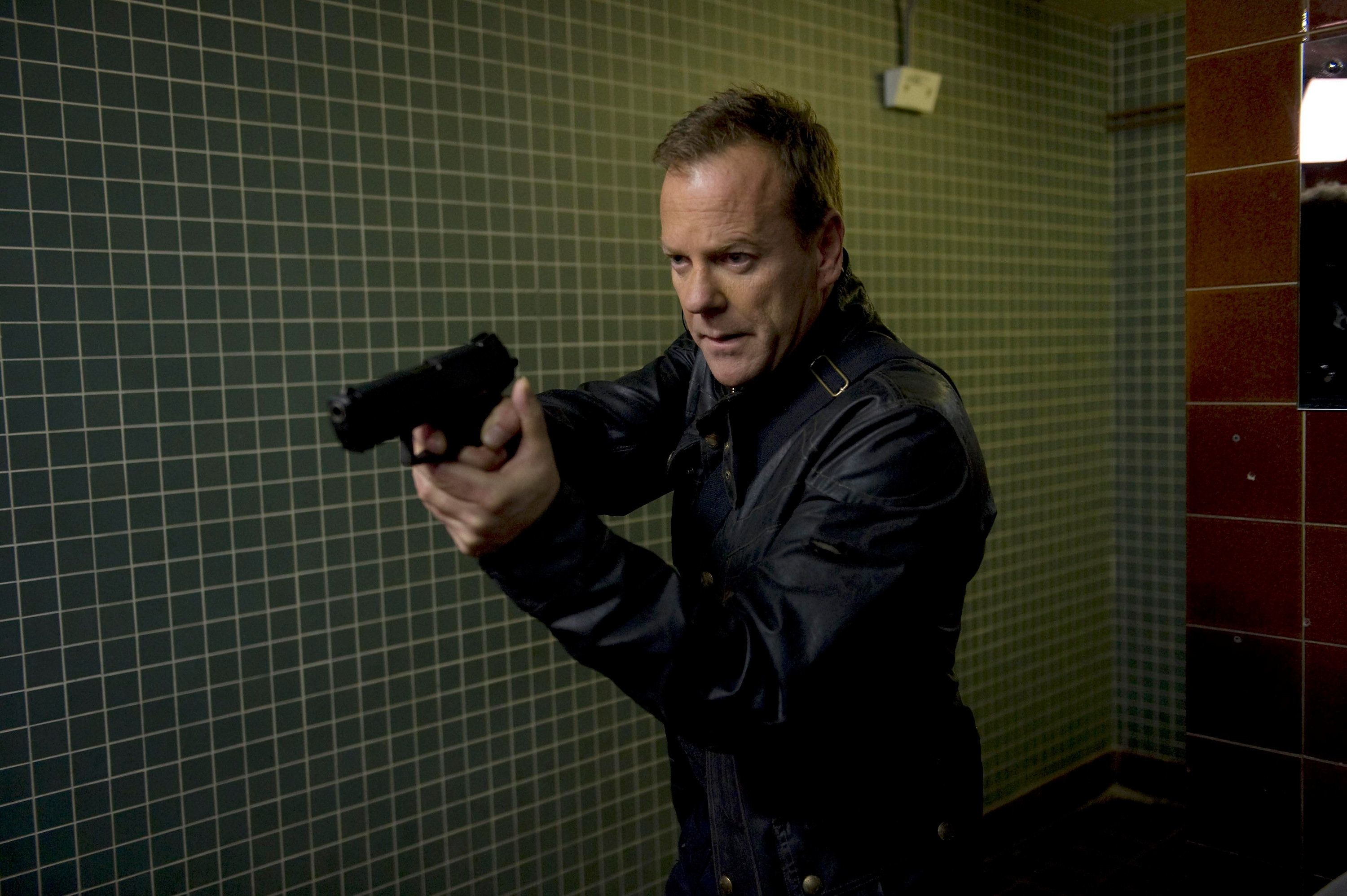 24: LIVE ANOTHER DAY: Kiefer Sutherland in the special, two-hour premiere episode of 24: LIVE ANOTHER DAY on Monday, May 5, 2014 (8:00-10:00 PM ET/PT) on FOX. (Photo by FOX via Getty Images)