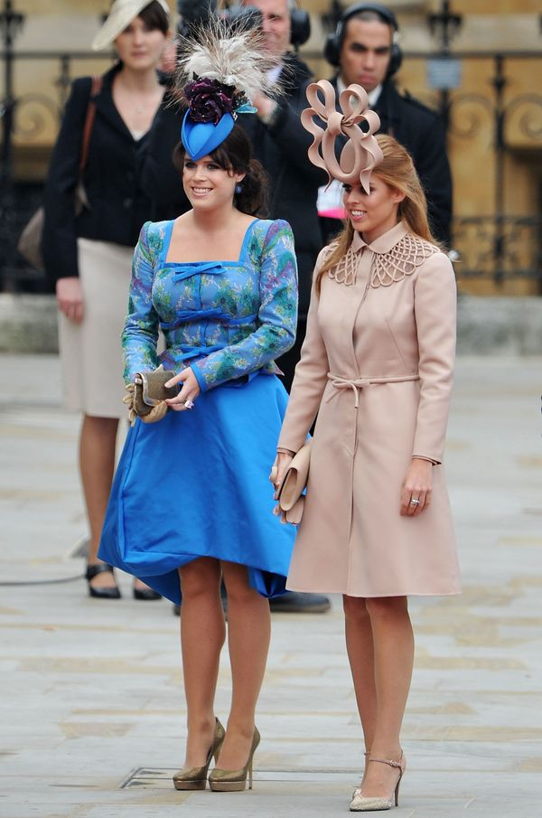 At the royal wedding of Prince William to the former Catherine Middleton at Westminster Abbey on April 29 in London.