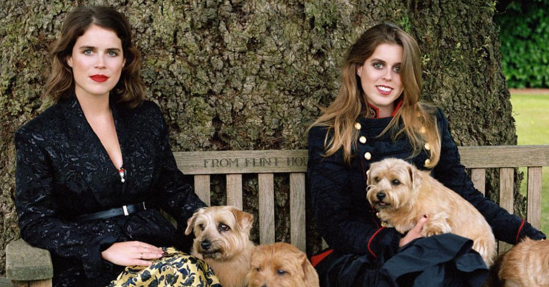 Princesses Beatrice And Eugenie Share The Vogue Spotlight With Rihanna