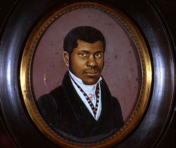 Born in slavery in Santo Domingo, Haiti, Pierre Toussaint was brought to New York about 1797 by Jean Berard, a French landowner. When Berard returned to Haiti and died, leaving his young widow in New York without means, Toussaint took care of her until her death, supporting her and his own family as one of the most successful hairdressers in New York City. He used his wealth to begin a school, an orphanage and a religious community of black nuns.