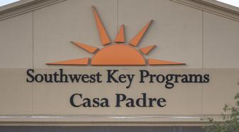 The Southwest Key-Casa Padre Facility, formerly a WalmartInc.store, stands in Brownsville, Texas, U.S., on Sunday, June 17, 2018. Democrats escalated their attacks on PresidentDonald Trump's policy of separating immigrant children from parents who illegally cross the Mexican border, as public outrage over the practice balloons into an election-year headache for Republicans. Photographer: Sergio Flores/Bloomberg via Getty Images