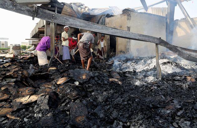 Υεμένη: 52 νεκροί στη Χοντάιντα από βομβαρδισμούς της συμμαχίας υπό τη Σαουδική