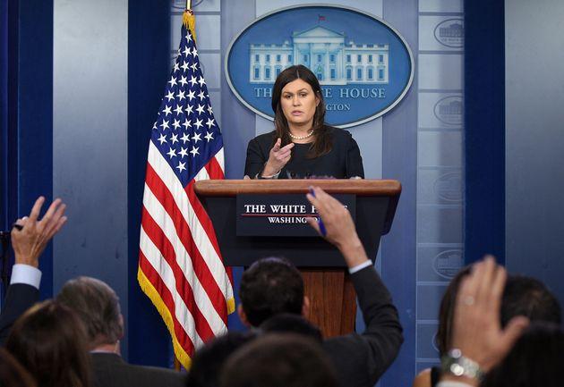 Trumps Pressesprecherin Sarah Huckabee