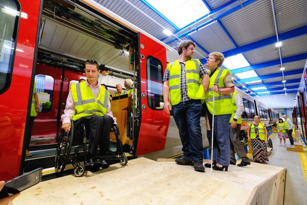 I Was Invited To See How Future Trains Would Be Fit For Disabled Rail