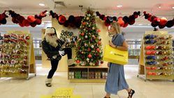 Selfridges Has Opened Its Christmas Shop On One Of The Hottest Days Of The Year