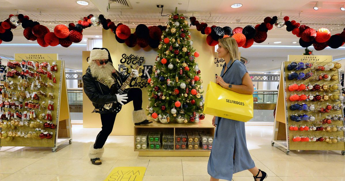 22ee57a75f570 Selfridges Has Opened Its Christmas Shop On One Of The Hottest Days Of The  Year