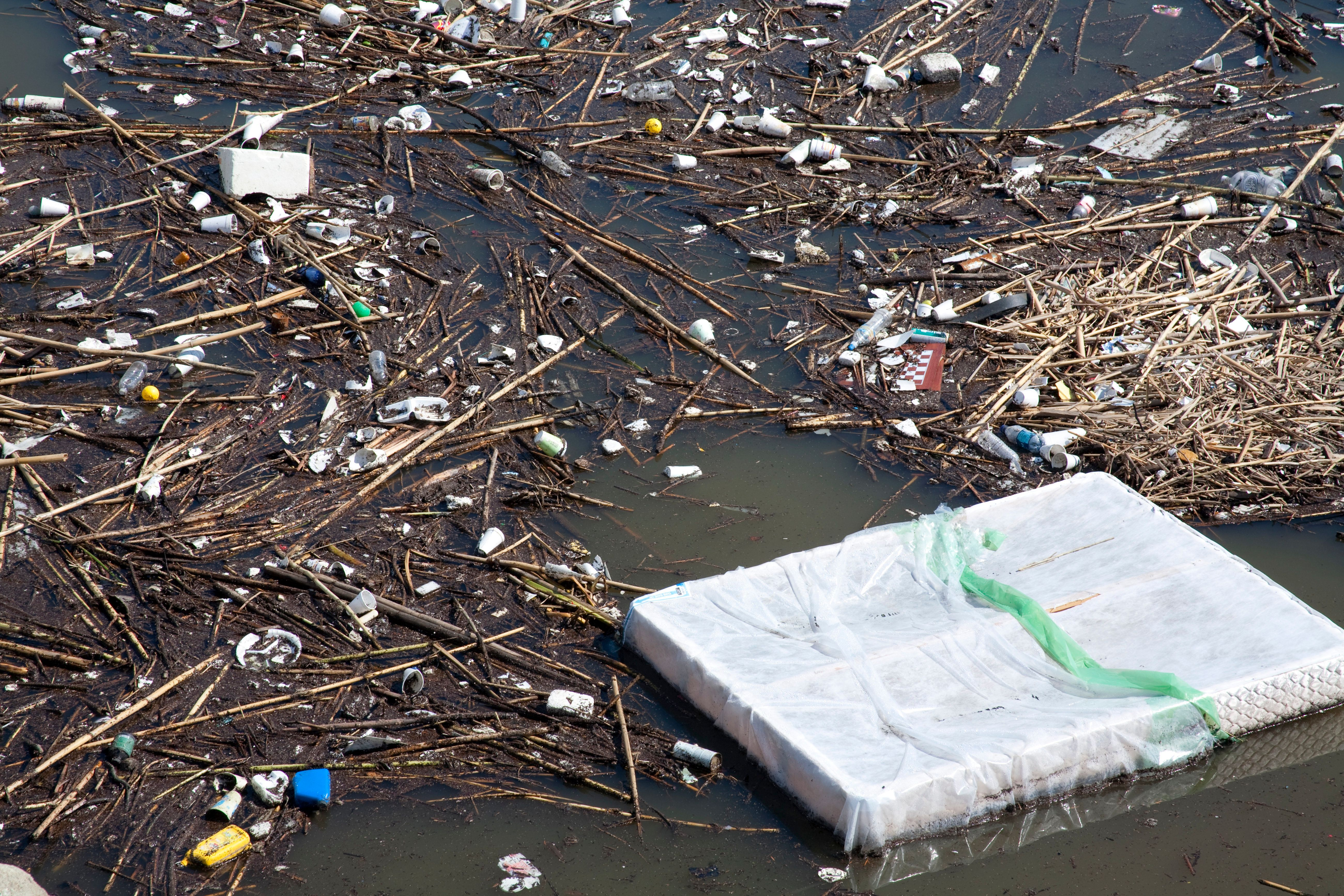 It's Not Just Plastic Polluting Oceans And Rivers, It's Your Clothes And Furniture