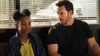 THE PASSAGE:  L-R:  Saniyya Sidney and Mark-Paul Gosselaar in THE PASSAGE premiering midseason on FOX. (Photo by FOX via Getty Images)