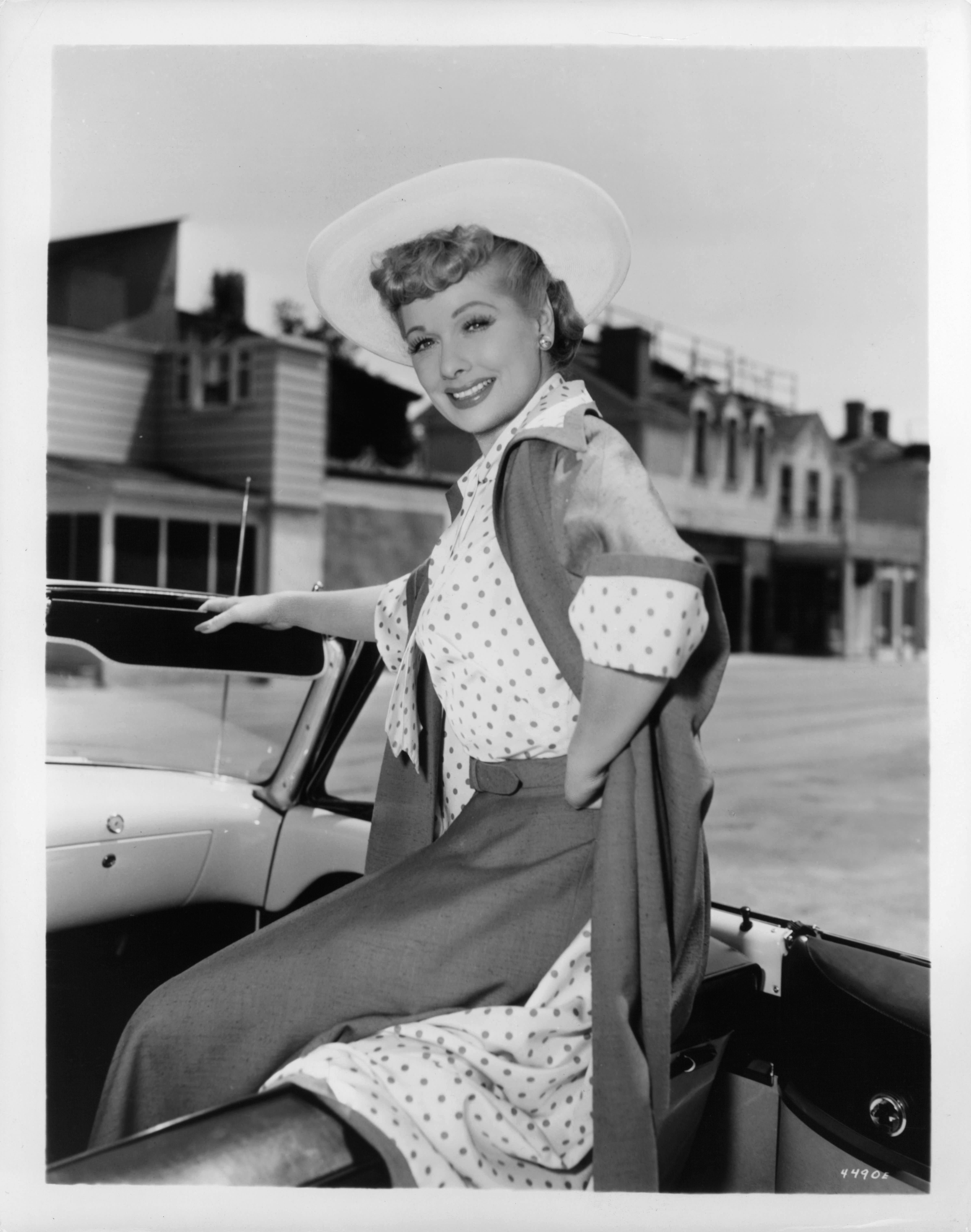 A publicity portrait of the actress.