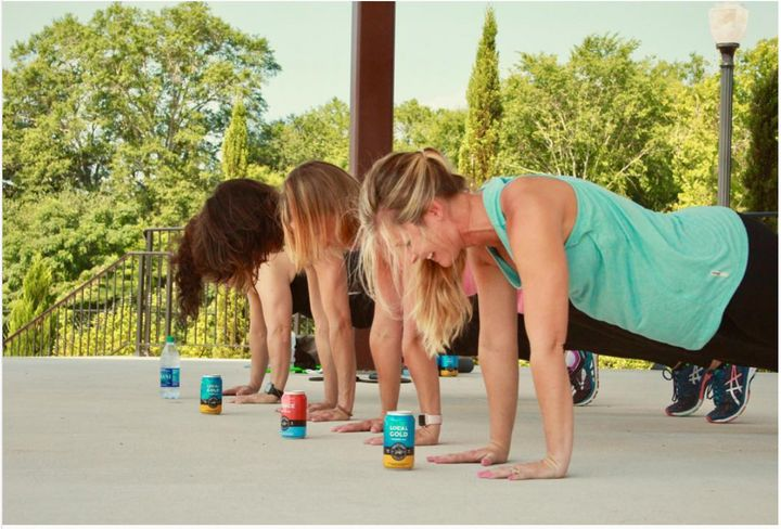 Wild Leap Brew Co. in LaGrange, Georgia, is another brewery that has exercise classes on site.