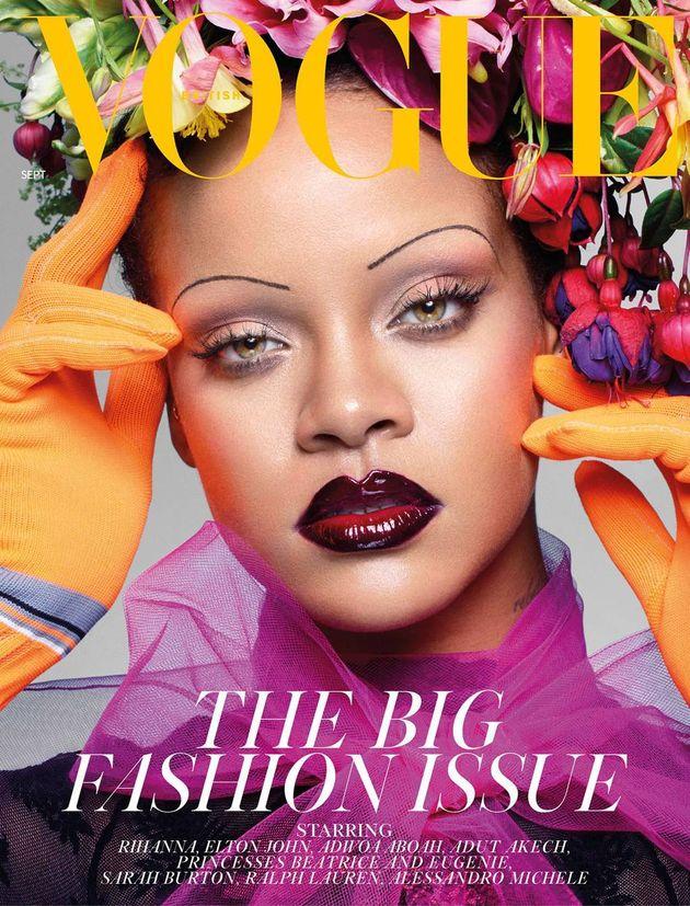 Rihanna makes history on UK