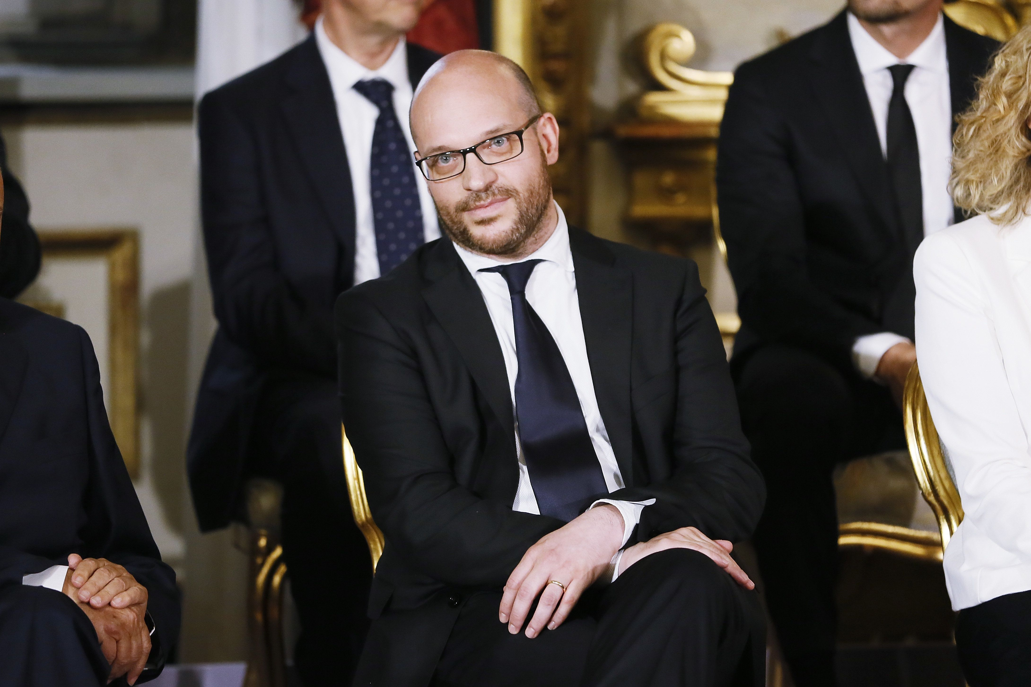 Italy's family minister Lorenzo Fontana.
