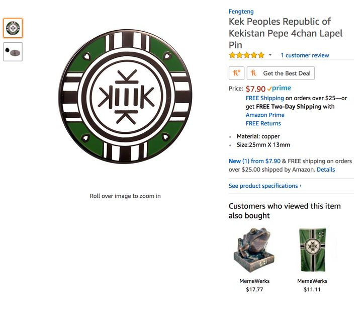 Amazon Still Allows The Sale Of White Supremacist Products