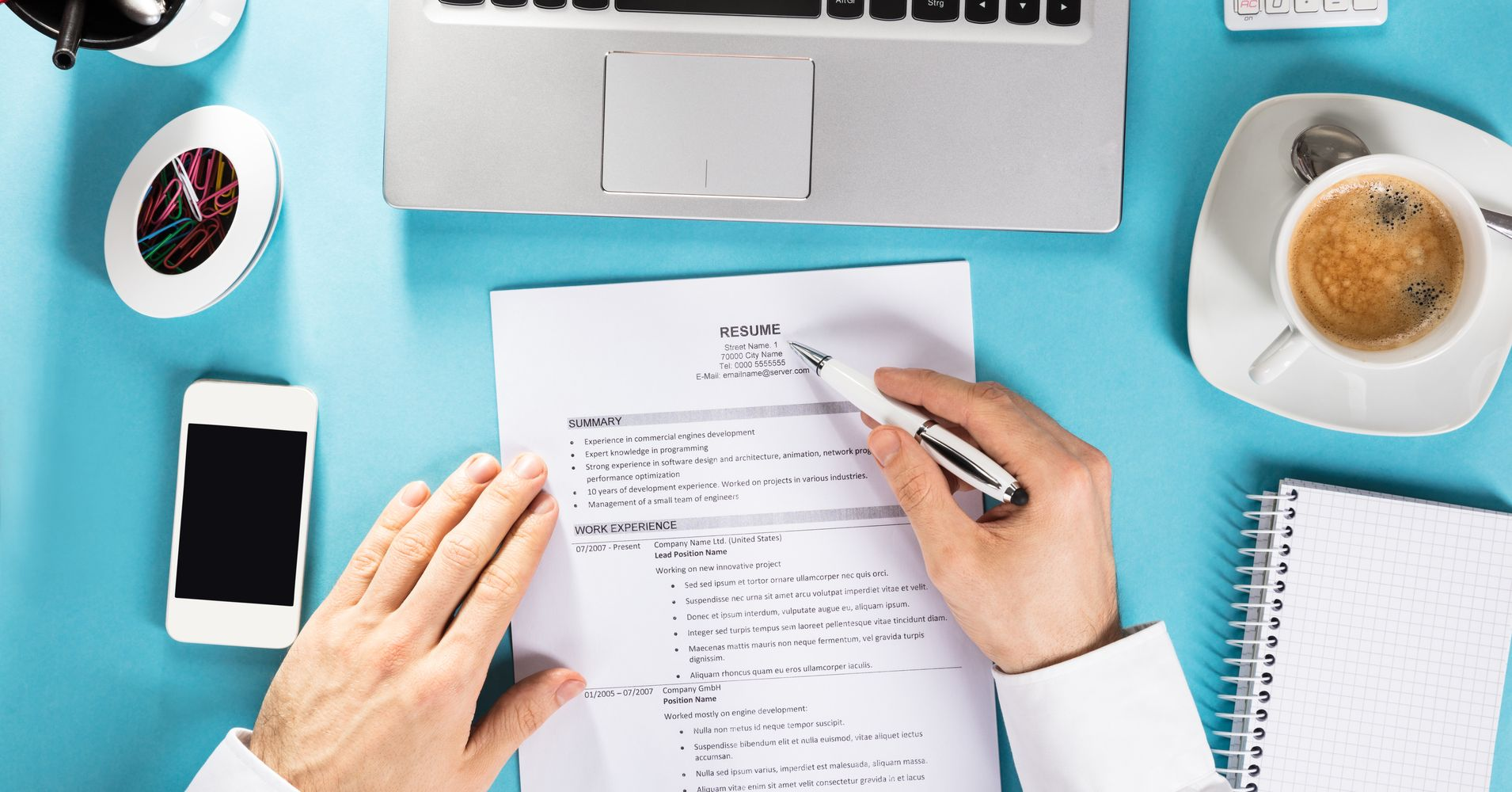 9 Seemingly Harmless Things You Should Never Have On Your Resume