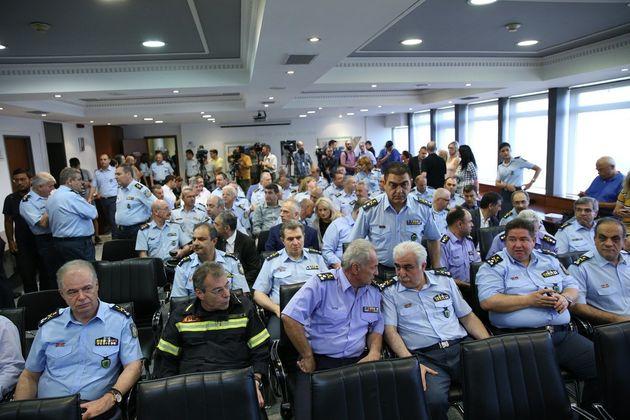 Τελετής παράδοσης στο Υπουργείο Προστασίας του Πολίτη. Τόσκας: Δεν είμαι επαγγελματίας