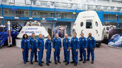 La Nasa nomme 9 astronautes pour piloter les premières capsules