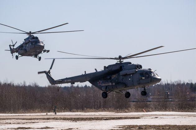 Ρωσικά ελικόπτερα συγκρούστηκαν στον αέρα. Στους 18 οι