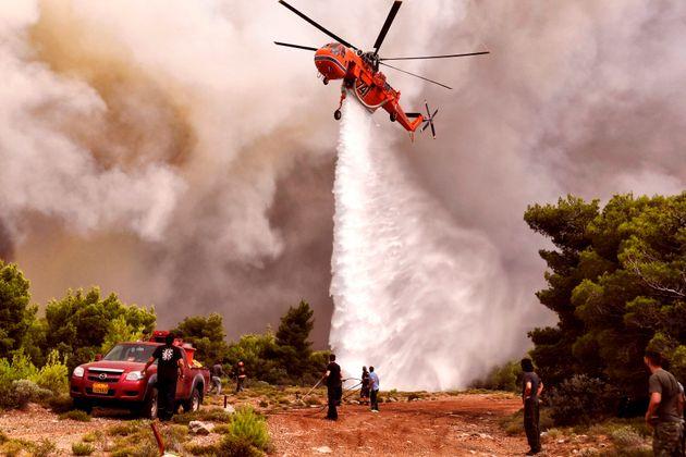 Πολύ υψηλός κίνδυνος πυρκαγιάς και την