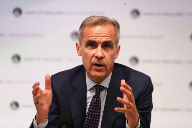 Mark Carney has warned of the impact a no deal Brexit could have on the