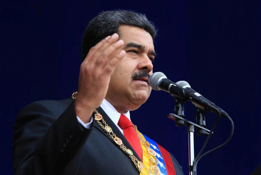 베네수엘라 대통령이 생방송 연설 중 암살 위협을