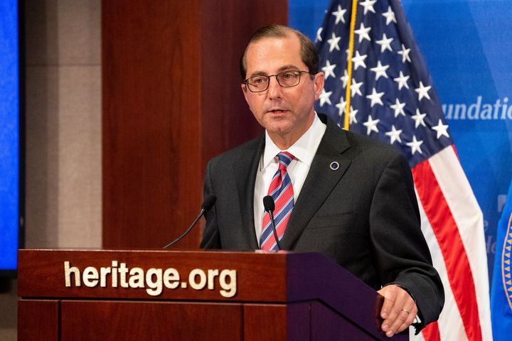 HHS Secretary Alex Azar has said short-term plans will offer new, more affordable options to people who are struggling to pay