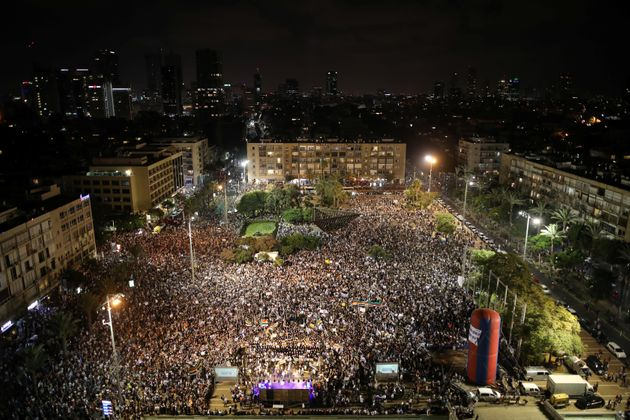 Μεγάλη διαδήλωση στο Ισραήλ κατά του νόμου που ορίζει το Ισραήλ ως «εθνικό κράτος του εβραϊκού