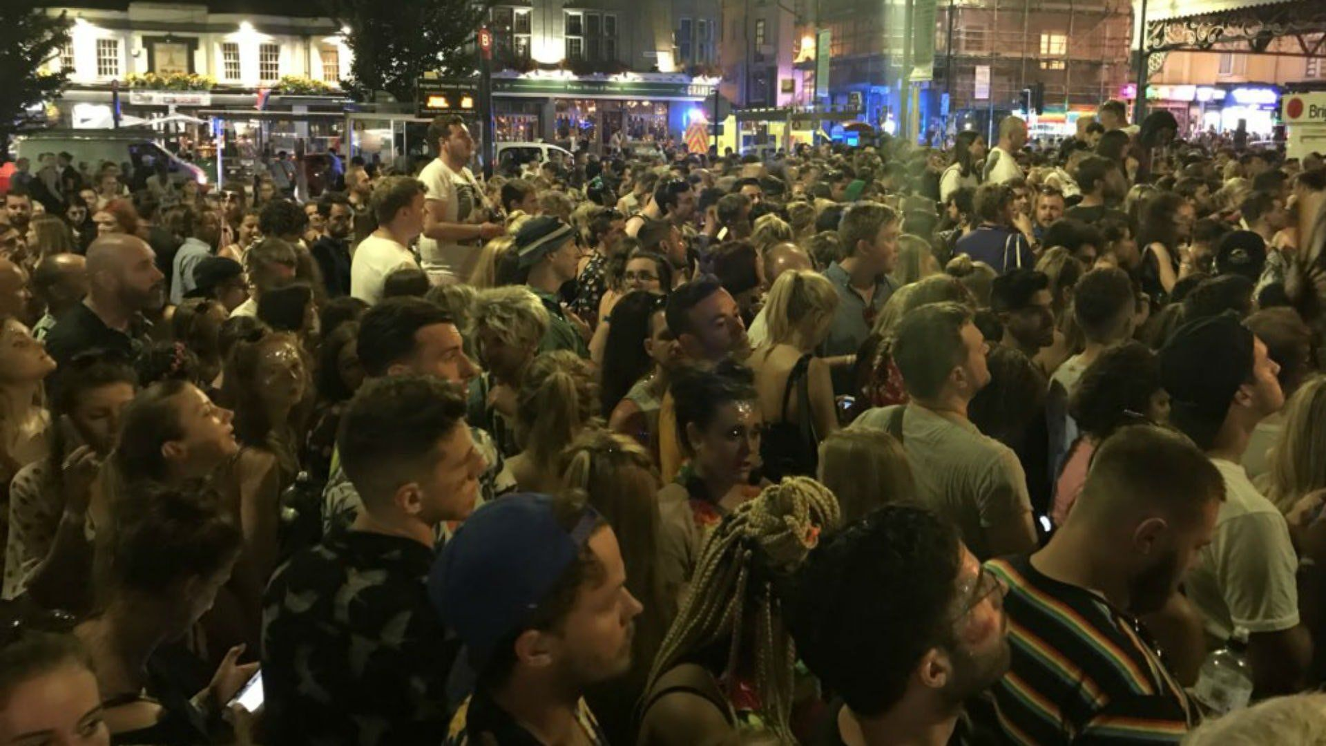 Brighton Pride Ends With Chaos As Train Overcrowding Leaves Revellers