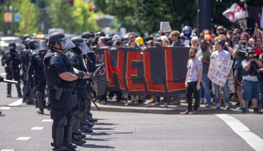 Violent Proto-Fascists Came To Portland. The Police Went After The