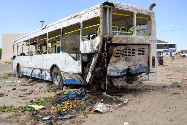 Un accident de bus en Tunisie ( Photo d'archivesAFP via Getty