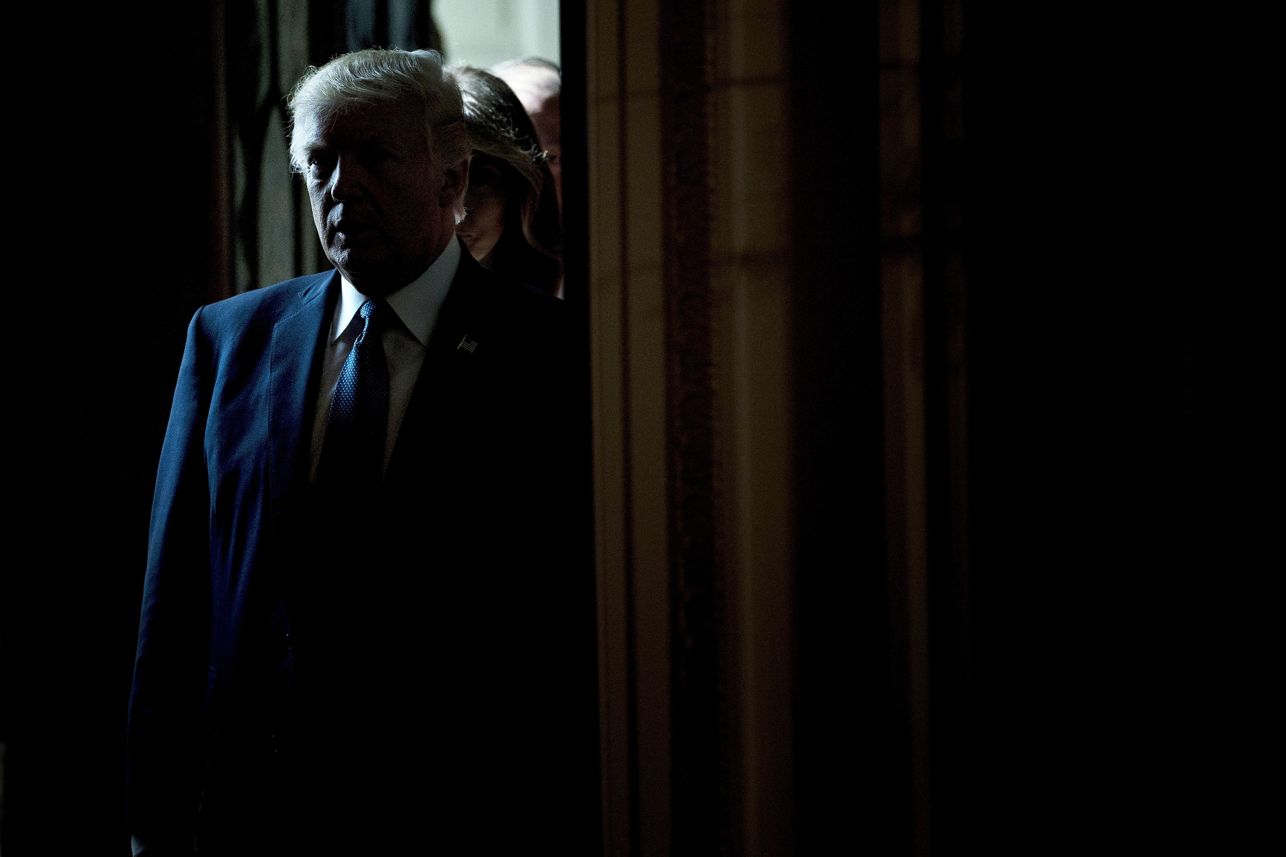 Wüterich Trump: Wie verängstigt der US-Präsident insgeheim wirklich