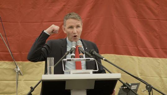 """Die AfD zeigt beim """"Kyffhäusertreffen"""