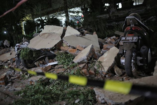 Dozens Dead After Powerful Earthquake Hits Indonesian