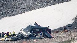알프스에서 있었던 추락사고로 빈티지 항공기 승객 20명이 모두